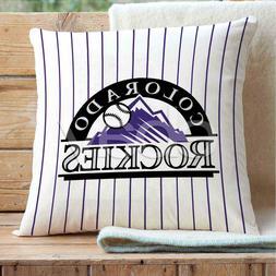 Colorado Rockies MLB Custom Pillows Car Sofa Bed Home Decor