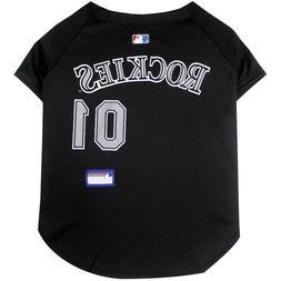 Colorado Rockies  MLB Dog Pet Jersey