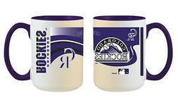 Colorado Rockies MLB Full Wrap 15oz Jumbo Coffee Mug FREE SH