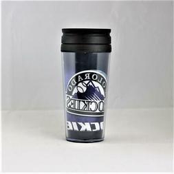 Colorado Rockies MLB Licensed 16oz Acrylic Tumbler Coffee Mu