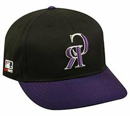 Colorado Rockies MLB OC Sports Two Tone Road Hat Cap Adult M