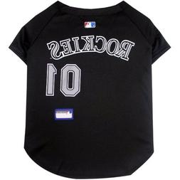 Colorado Rockies MLB Pets First Officially Licensed Dog Jers