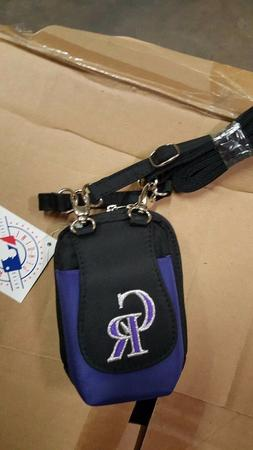 Colorado Rockies MLB Purse Plus Touch Phone  ID Wallet Charm