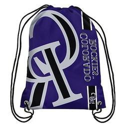 Colorado Rockies MLB Side Stripe Big Logo Drawstring Back Pa