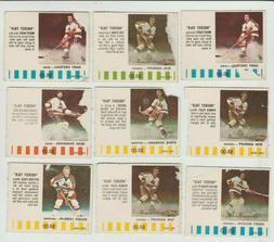 Colorado Rockies NHL Hockey 1976 77 PUCK BUCKS 9 Card Lot As