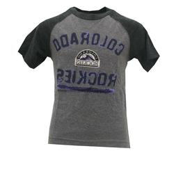 Colorado Rockies Official MLB Genuine Kids Youth Size Distre