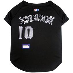 Colorado Rockies Pet Jersey MLB clothes for Dog / Cat Sizes