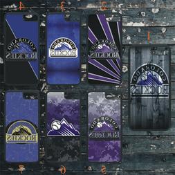 COLORADO ROCKIES PHONE CASE COVER FITS iPHONE 7 8 X 11 SAMSU