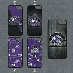 Colorado Rockies Phone Case For iPhone 11 Pro X XS Max 8+ 7