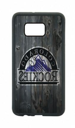 Colorado Rockies Phone Case For Samsung Galaxy S10 S9 S8 S7