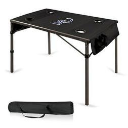 colorado rockies portable folding travel table black