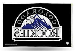 Colorado Rockies Premium 3x5 Flag w/Grommets Outdoor House B