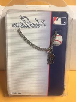 Colorado Rockies silver tone necklace MLB