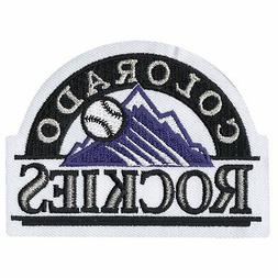 Colorado Rockies Sleeve Patch Primary Team Logo Jersey MLB H