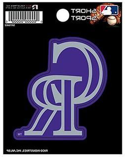 "Colorado Rockies SSD 3"" Vinyl Sport Die Cut Decal Bumper Sti"