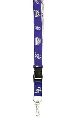 Colorado Rockies Two Tone Lanyard Key Ring  MLB Chain ID Bad
