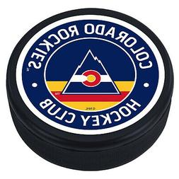 "Colorado Rockies Vintage Design Hockey Puck "" Souvenir ""- Ne"