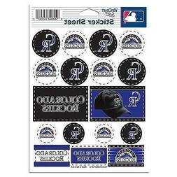 Colorado Rockies Vinyl Die-Cut Sticker Set / Decal Sheet *Fr