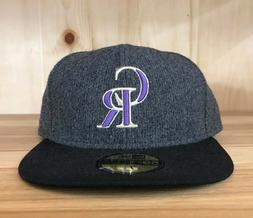 NEW ERA COLORADO ROCKIES WINTERTIDE FITTED HAT CAP 59FIFTY G