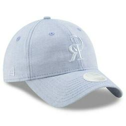 Colorado Rockies New Era Women's Crisp Pick 9TWENTY Adjustab