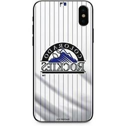 iPhone X/XS - Colorado Rockies Home Jersey Cell Phone Case