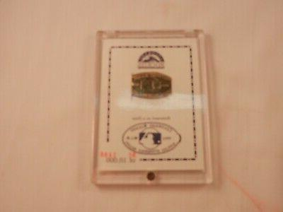 1993 colorado rockies attendence record coin in