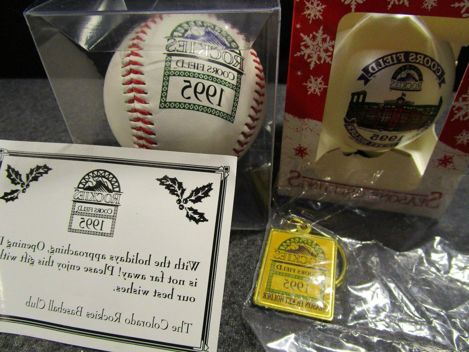 1995 colorado rockies season ticket holder baseball