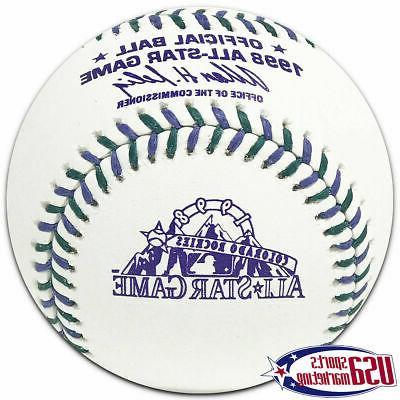 1998 mlb all star official game baseball