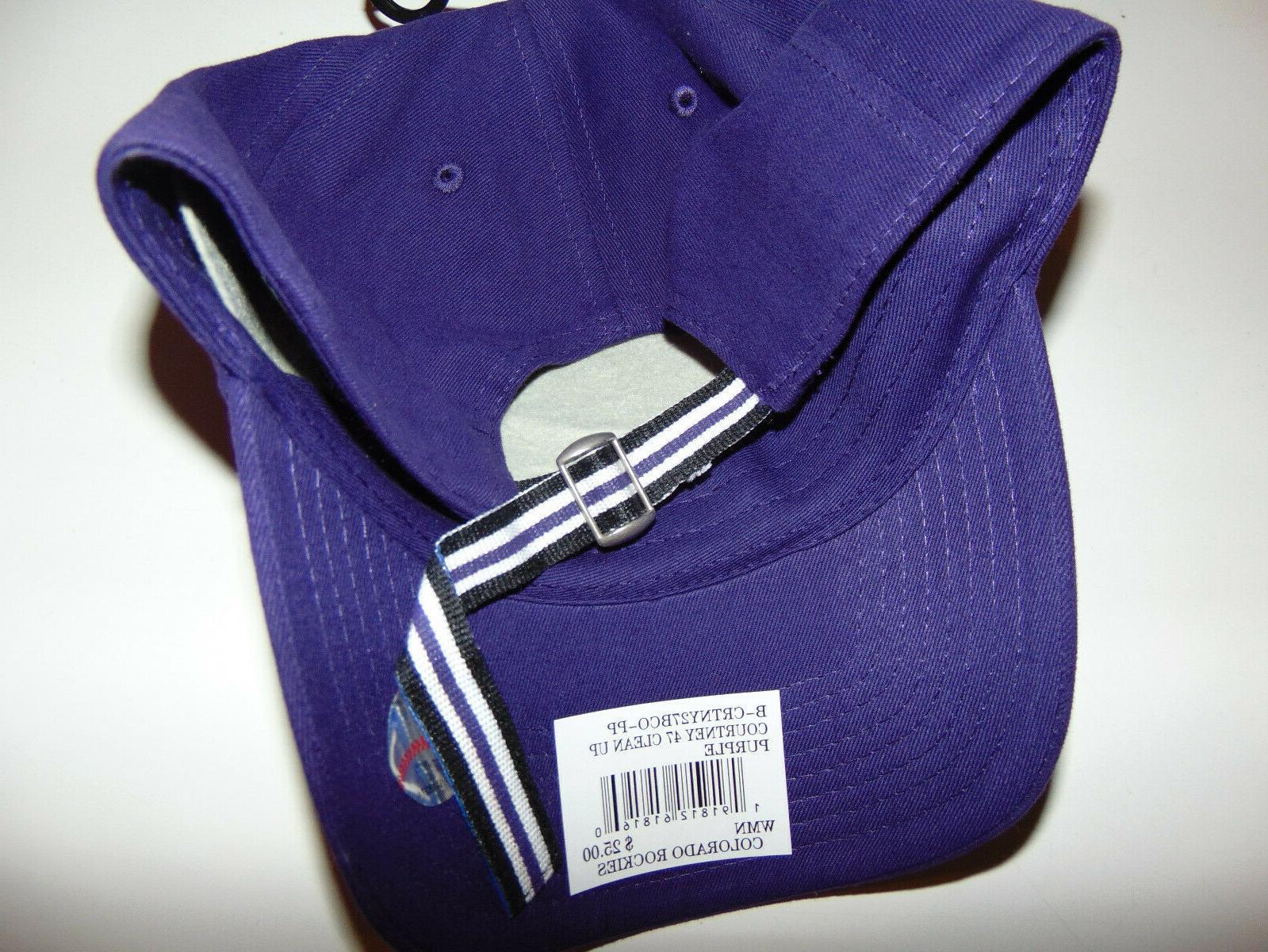 2) Rockies '47 Clean Adjustable Hat BRAND Lot
