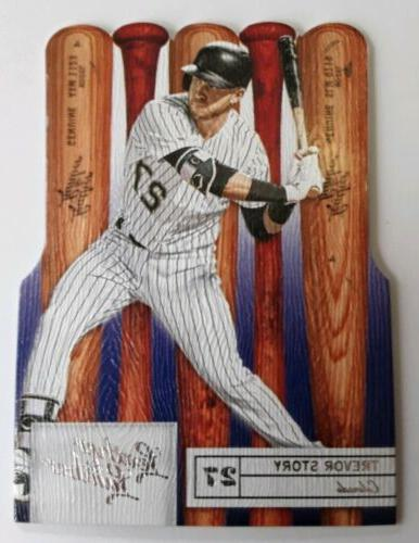 2019 panini leather and lumber trevor story