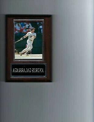 andres galarraga plaque baseball colorado rockies mlb