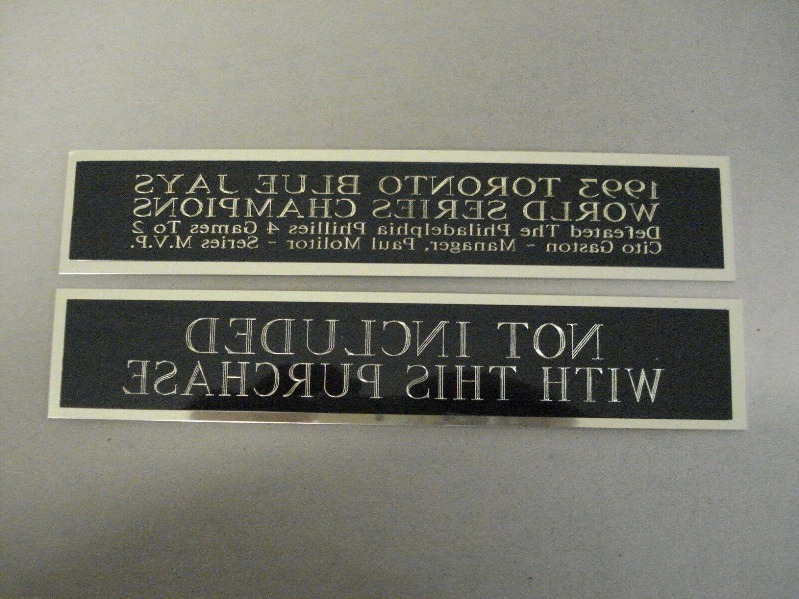 Charlie Nameplate for a Jersey 8