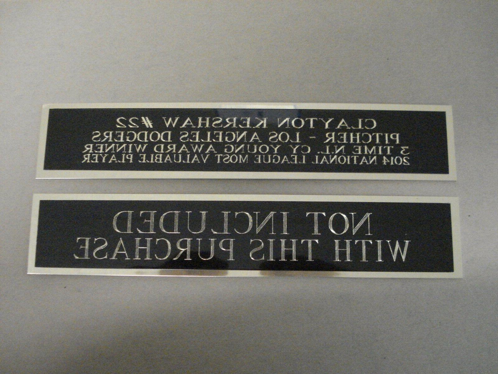 Charlie Rockies Nameplate Baseball Jersey 1.5 8