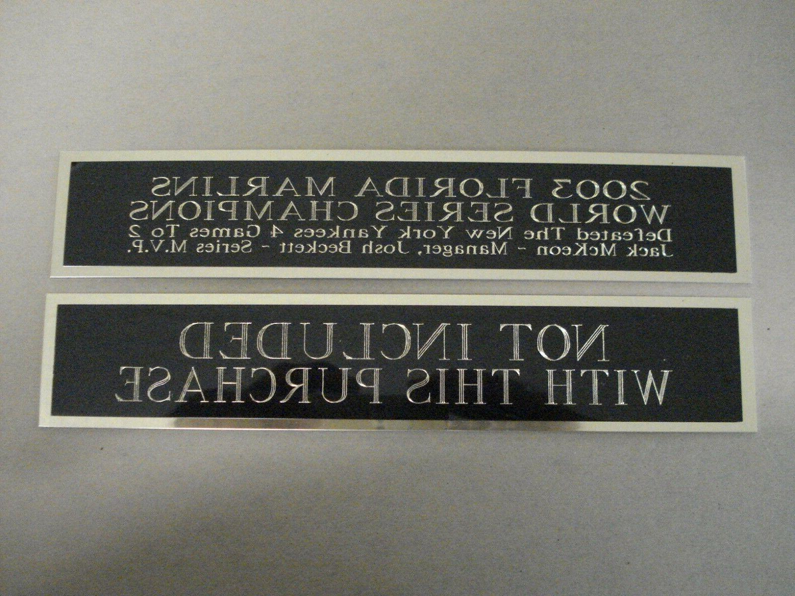 Charlie Nameplate a Jersey 1.5 8