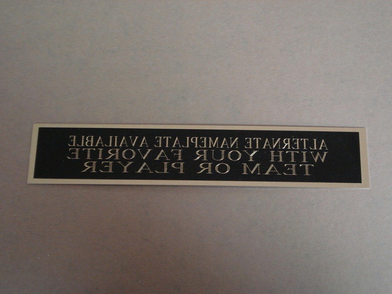 Charlie Blackmon Nameplate For Baseball Case Or