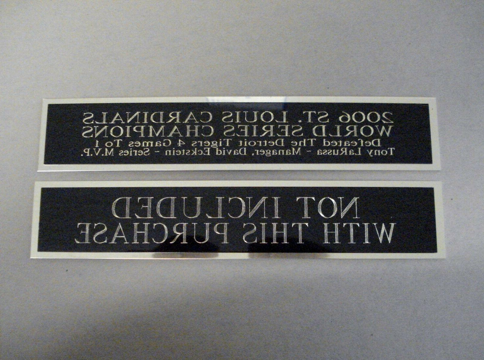 Charlie Nameplate For Case Or