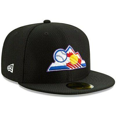 colorado rockies 2019 batting practice 59fifty fitted