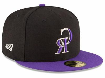 colorado rockies alt 59fifty fitted hat black