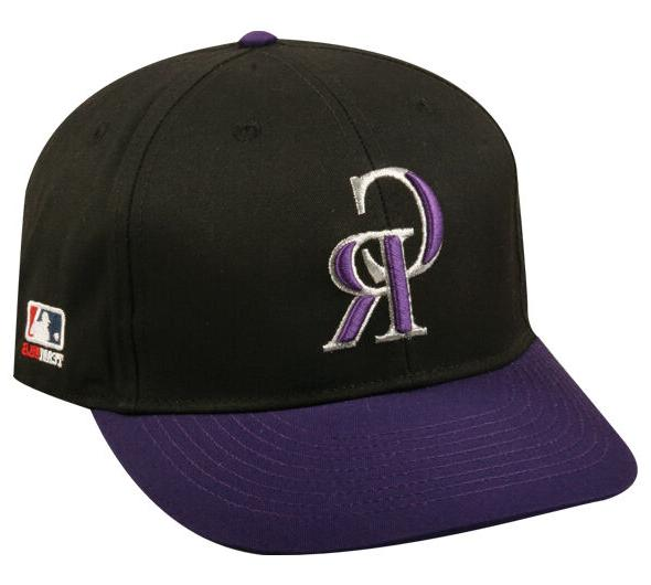 colorado rockies alternate replica baseball cap adjustable