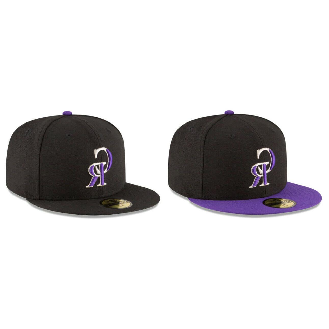 colorado rockies col mlb authentic 59fifty fitted