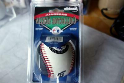 Colorado ROCKIES Collector Baseball Franklin w/Case