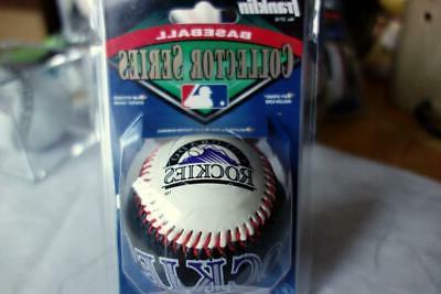 colorado rockies collector series baseball franklin w