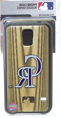 Colorado Rockies Galaxy S5 Rugged Series Phone Case