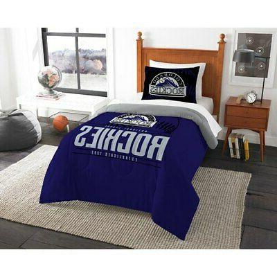 colorado rockies grand slam twin comforter set