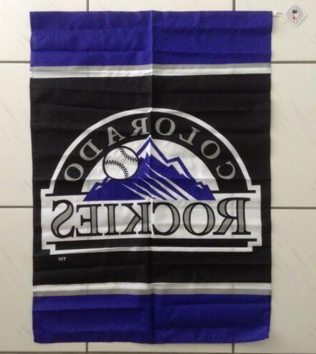 colorado rockies hanging flag banner nce model