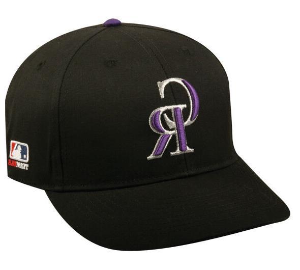 colorado rockies home replica baseball cap adjustable