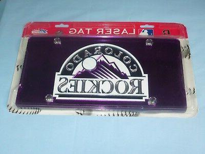 colorado rockies laser tag durable acryllic mirror