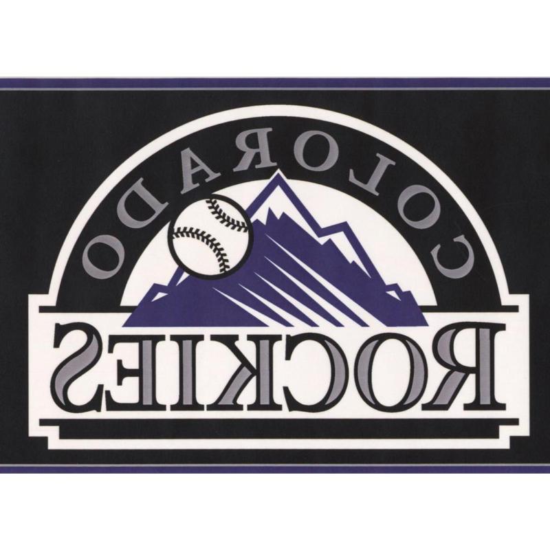 Colorado Rockies Mlb Baseball Team Fan Sports Prepasted Wall