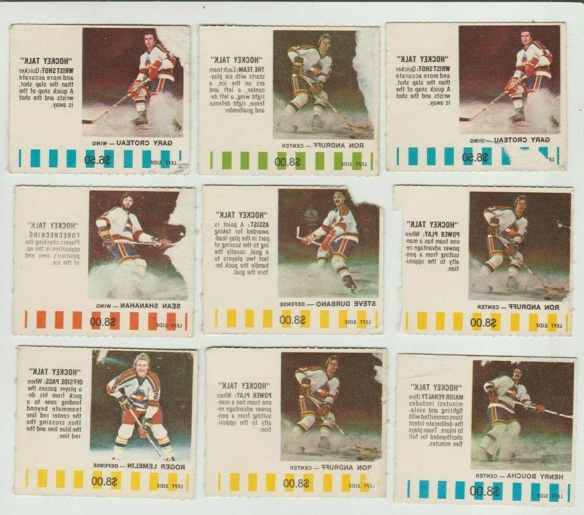 colorado rockies nhl hockey 1976 77 puck