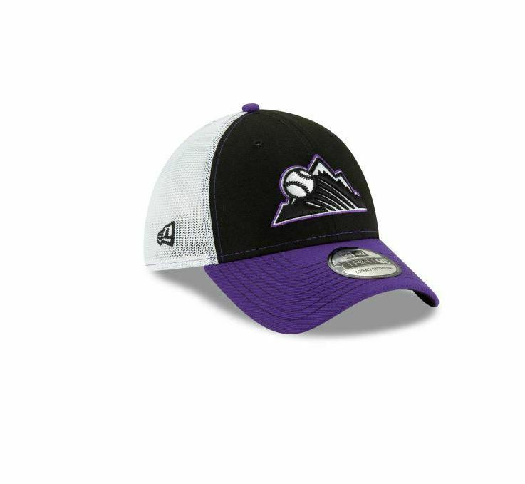 colorado rockies practice piece 39thirty flex hat